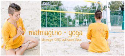 Johanna Dyngeland - Yoga ved Kaland Skole